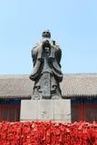 孔庙在北京 免版税库存照片