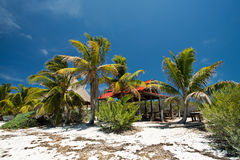 孔托伊岛在墨西哥 图库摄影