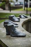 孔斯巴卡脚雕塑 库存照片