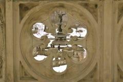 从孔的贝塞斯达喷泉 免版税库存图片