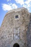孔苏埃格拉设防中世纪城堡省的  图库摄影