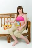 孕妇 免版税库存图片