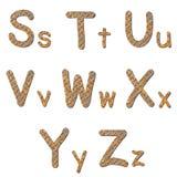 字体生锈的验查员板材钢 库存照片