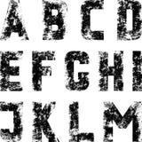 字体 免版税库存图片