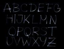 字体 图库摄影