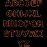 字体 库存例证