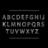 字母表传染媒介例证 皇族释放例证