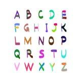 字母表传染媒介手拉的例证 免版税库存照片