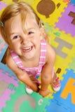 字母表儿童愉快了解 免版税库存图片