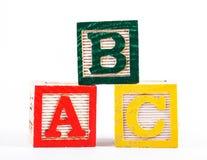 字母表块 库存图片
