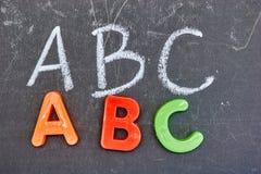 字母表复制信函空间 库存图片