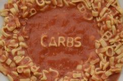 字母表意粉信件咒语气化器 图库摄影