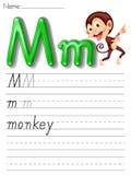 字母表手写系列 免版税库存照片