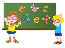 字母表教学 库存图片