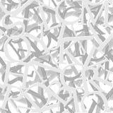 字母表无缝的传染媒介样式 免版税库存照片