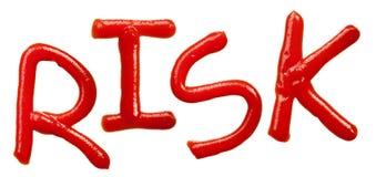 字母表查出的番茄酱信函 免版税库存图片