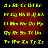 字母表神秘主义者信件 也corel凹道例证向量 皇族释放例证