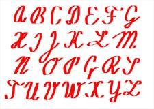 字母表背景 免版税库存图片