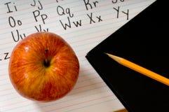 字母表苹果 免版税库存照片