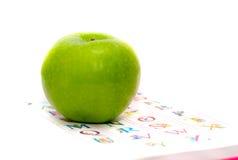 字母表苹果 免版税库存图片