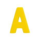 字母表被隔绝的难题片断 库存照片