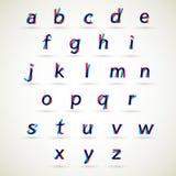 字母表集合 免版税库存图片