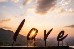 字母表`爱` 免版税库存照片