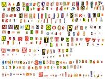 字母表 免版税库存照片