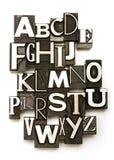 字母表 免版税图库摄影