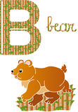 字母表b 向量例证