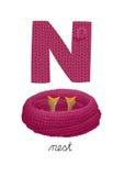 字母N 库存图片