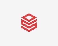 字母S象字母表标志 免版税图库摄影