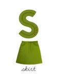 字母S 免版税库存照片