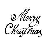 字法圣诞快乐 皇族释放例证