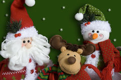 字符圣诞节 免版税库存图片