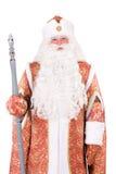 字符圣诞节ded moroz俄语 库存图片