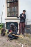 字符的扫烟囱的人一从二著名书的  免版税库存图片