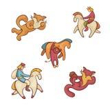 字符童话集 库存图片