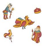 字符童话集 库存照片