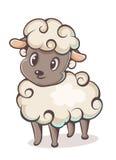 字符羊羔 库存例证