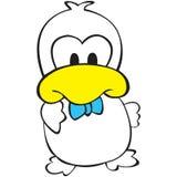 字符鸭子 免版税库存照片