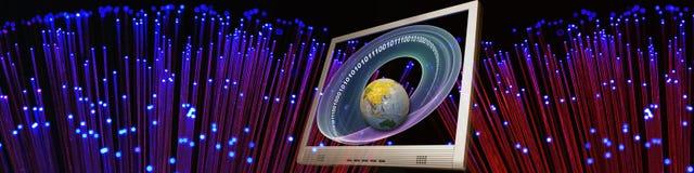 存取技术对世界 免版税库存图片
