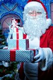 存在圣诞老人 免版税图库摄影