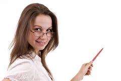 存在妇女的商业 免版税图库摄影