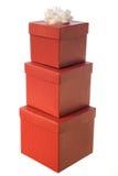 存在金字塔红色 图库摄影