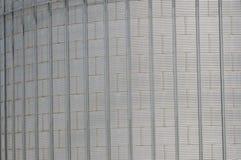 存放的谷物丰收现代筒仓 免版税库存图片