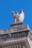 存档老鹰雕刻我们 库存照片