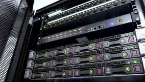 存贮硬盘驱动器服务器和保险丝 股票录像