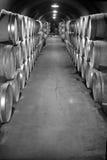 存贮酿酒厂 免版税库存图片