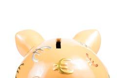 存钱罐,事务的概念和存金钱 免版税图库摄影